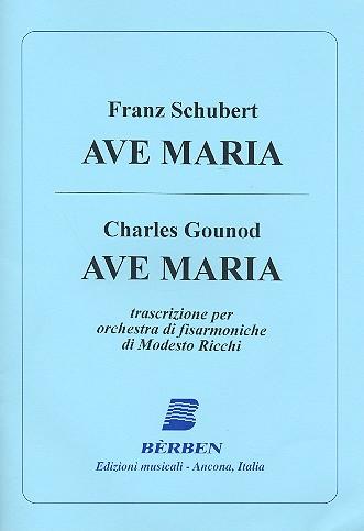2 Ave Maria: für Akkordeonorchester Partitur und Stimmen