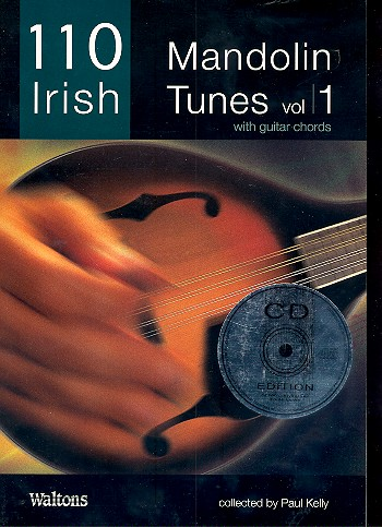 110 Irish Mandolin Tunes vol.1 (+CD): for mandolin (with guitar chords)