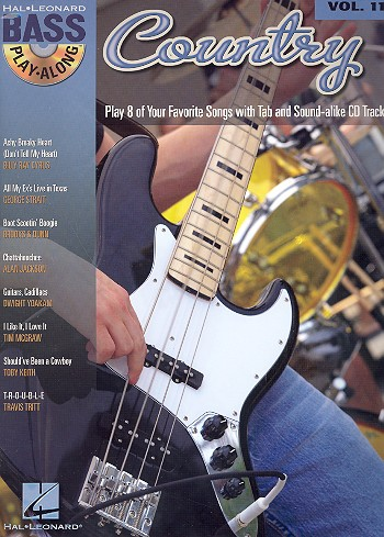 Country (+CD): guitar playalong vol.11 songbook vocal/bass/tab