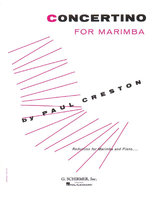 Concertino for marimbaphon and orchestra: for marimbaphon and piano