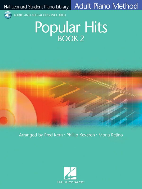 Popular Hits vol.2 (+Audio and Mii Access): for piano (with text)