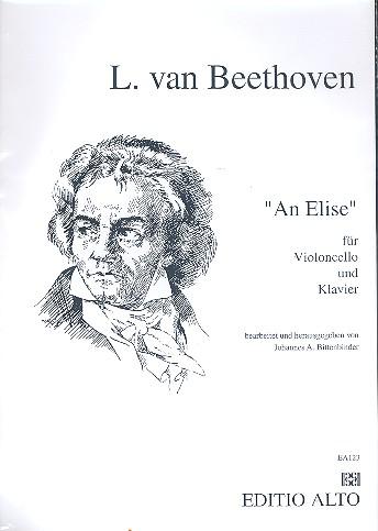 An Elise: für Violoncello und Klavier