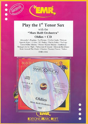 Oldies (+CD): for tenor saxophone