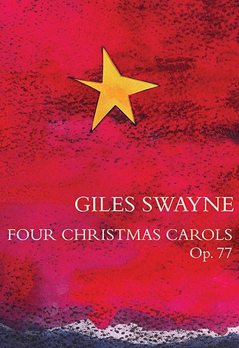 4 Christmas Carols opus.77: for chorus (SSA/SATB) and piano (organ)
