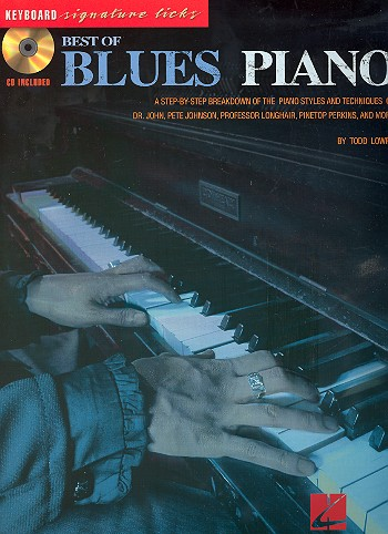 Best of Blues Piano (+CD): for piano