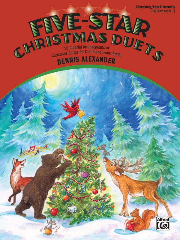 5-Star Christmas Duets: for piano 4 hands