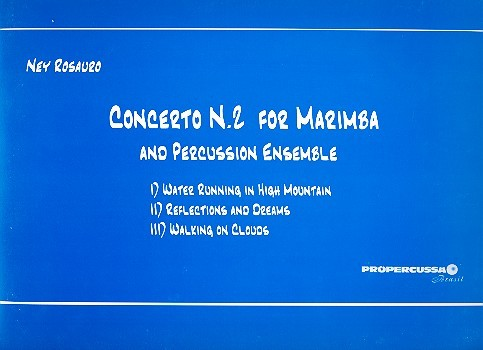 Concert no. 2: for marimba and percussion ensemble