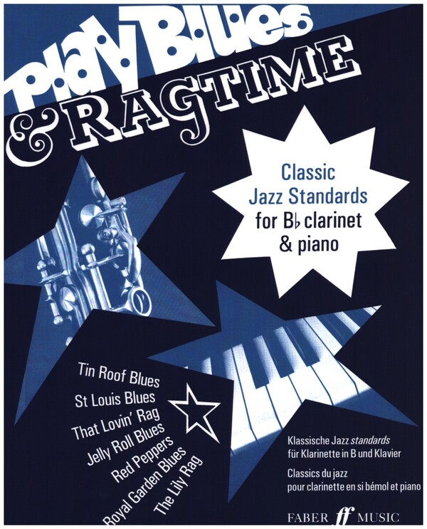 Play Blues and Ragtime: for clarinet and piano