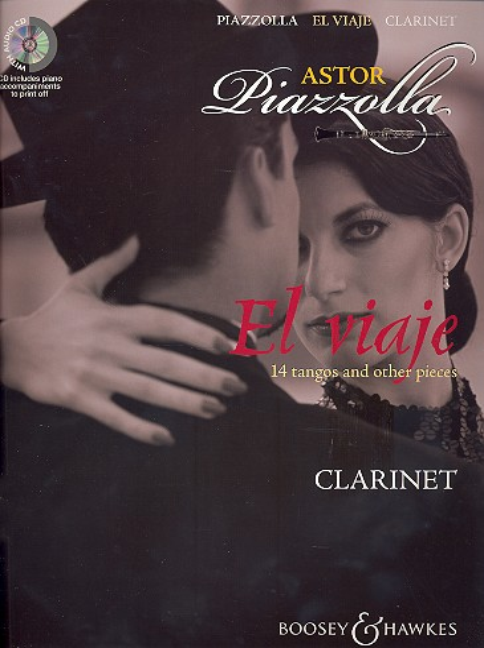 El viaje (+CD): für Klarinette und Klavier