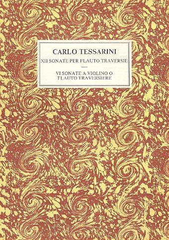 12 Sonaten opus.2 und 6 Sonaten opus.14: für Flöte (Violine) und Bc (nicht ausgesetzt)