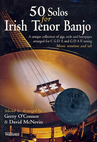 50 Solos (+CD): for Irish Tenor Banjo/tab