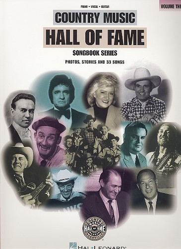 Country Music Hall of Fame vol.3: Songbook piano/vocal/guitar