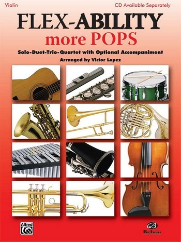 Flex-Ability more Pops: for 4 instruments (flexible ensemble)
