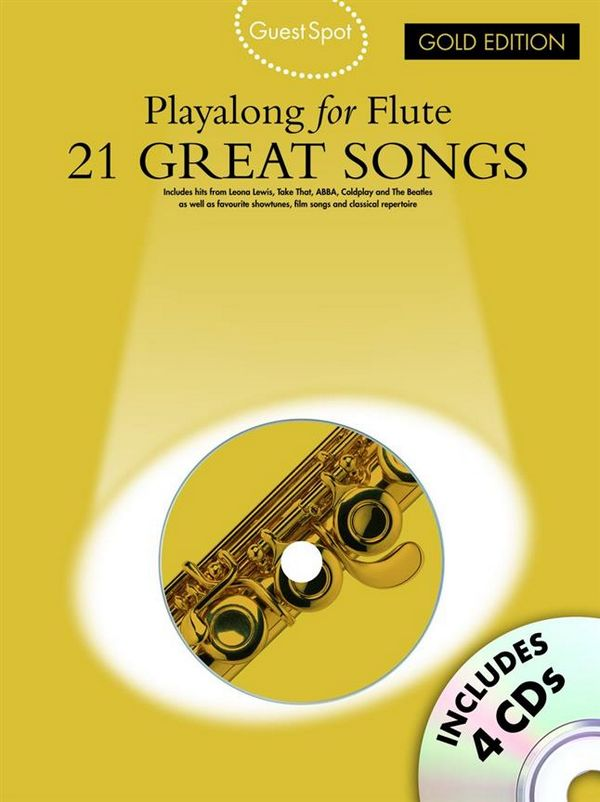 - 21 great Songs (+4 CD's) : for flute