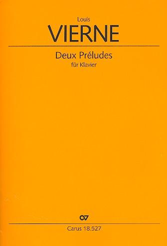 2 Préludes opus.36: für Klavier
