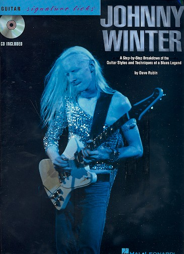- Johnny Winter (+CD) : for guitar/tab