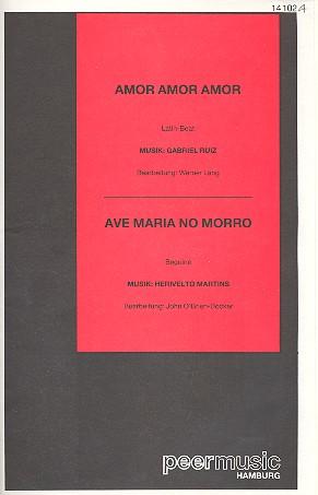Amor Amor Amor und Ave Maria No Morro: für Salonorchester