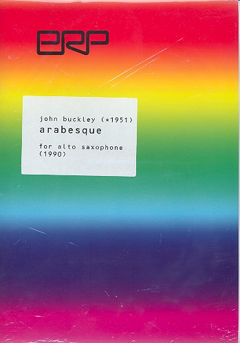 Arabesque: for alto saxophone