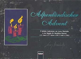 Alpenländischer Advent: für 4-stimmiges Blechbläser-Ensemble