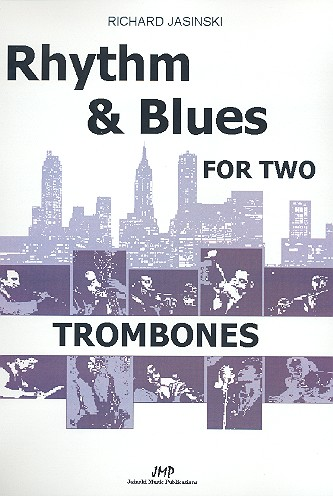 Rhythm and Blues for two: 10 easy duets for 2 trombones