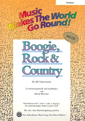 Boogie Rock and Country (+CD): für flexibles Ensemble