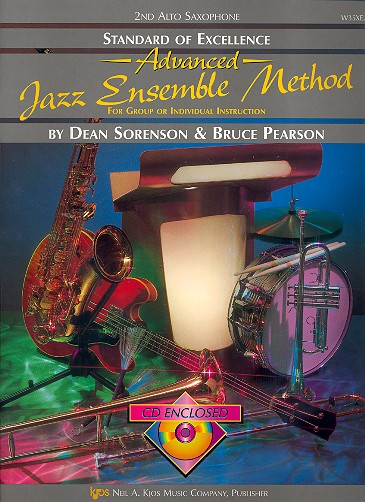 Advanced Jazz Ensemble Method (+CD): for alto saxophone 2