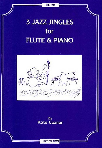 3 Jazz Jingles: for flute and piano