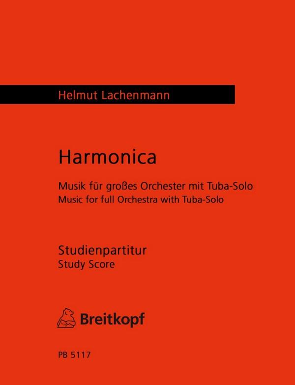 Harmonica: für Tuba und Orchester Studienpartitur