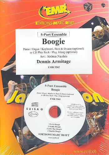 Boogie (+CD): for flexible ensemble (keyboard, guitar drums ad lib)