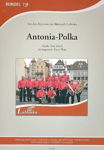 Antonia-Polka: für Blasorchester Direktion und Stimmen