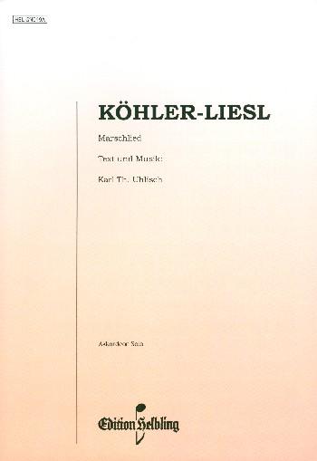 Köhler-Liesel: für Akkordeon (mit Text)