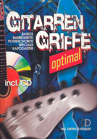 Gitarrengriffe optimal (+CD) Din A4