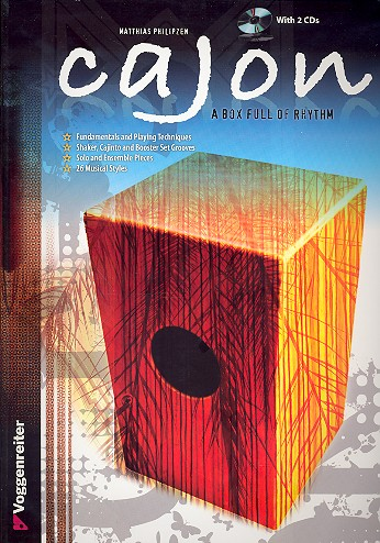 Cajon - a Box full of Rhythm (+2 CD\