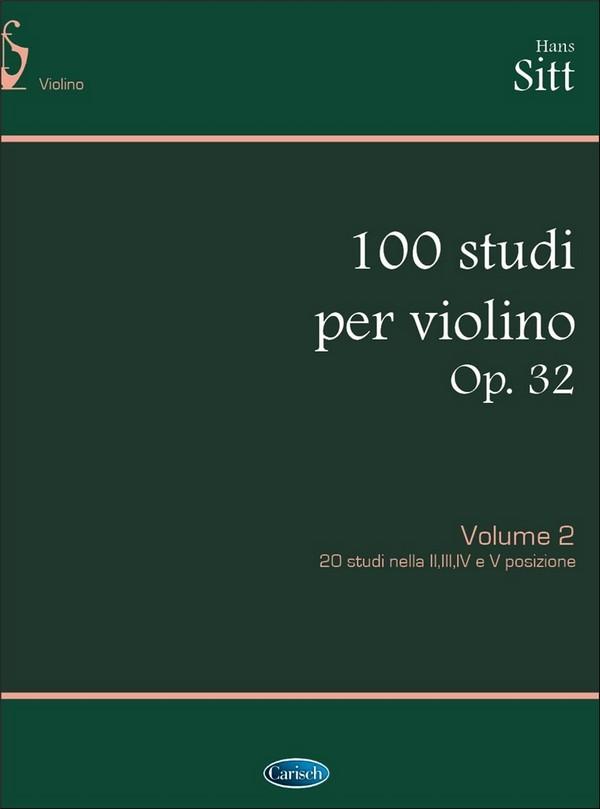 100 Etüden opus.32 Band 2: für Violine