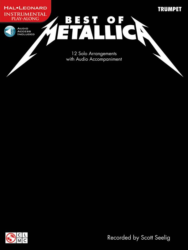 Best of Metallica (+CD): for trumpet