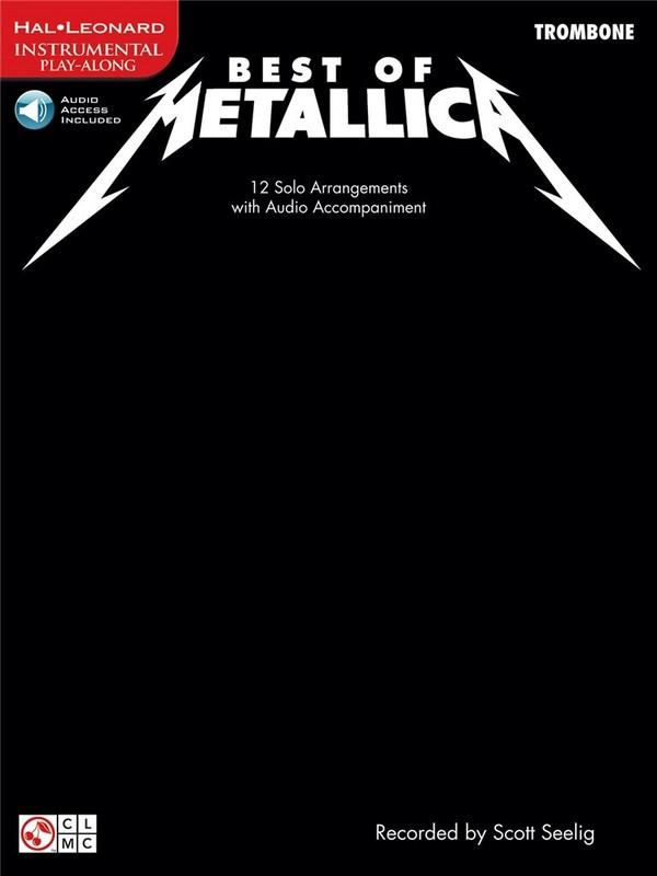 Best of Metallica (+CD): for trombone
