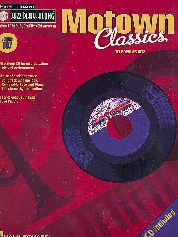 Jazz Playalong vol.107 (+CD): Motown Classics
