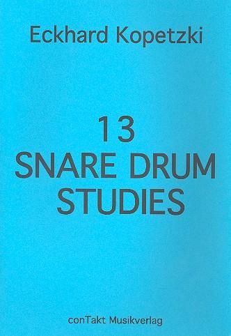 13 Snare Drum Studies