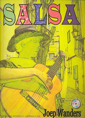 Salsa Guitar (+CD): for guitar