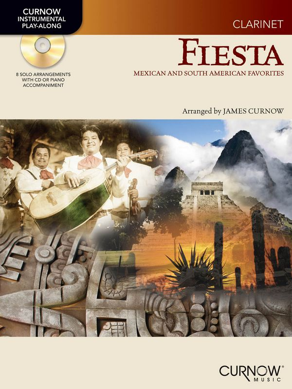 Fiesta (+CD): for clarinet