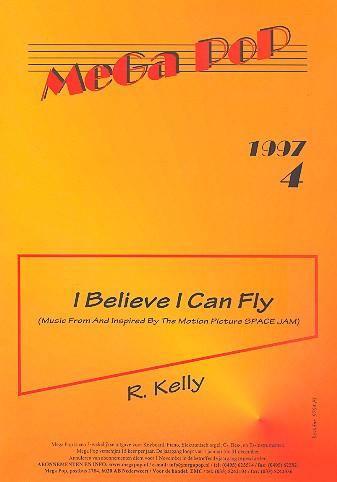 I Believe I can fly: Einzelausgabe für Klavier