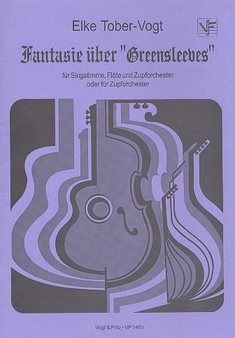 Fantasie über Greensleeves: für Singstimme, Flöte und