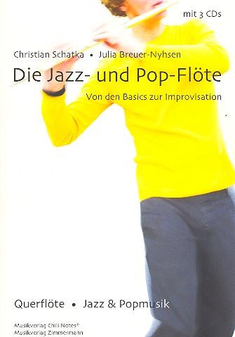 Die Jazz & Pop-Flöte (+3 CD\