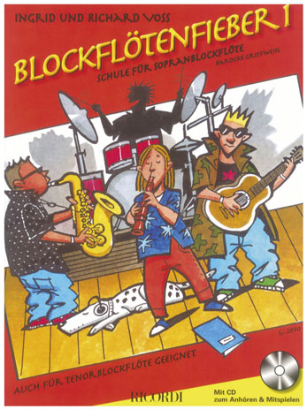 Blockflötenfieber Band 1 (+CD): für Sopranblockflöte (Tenorblockflöte)