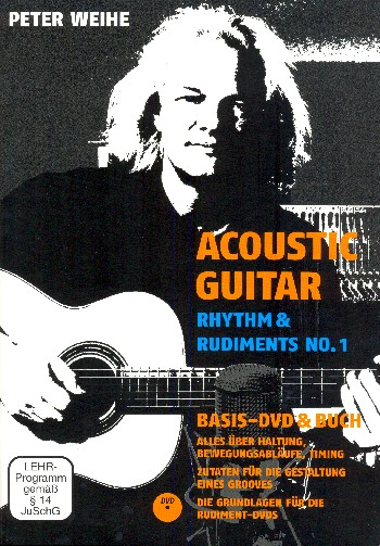 Acoustic Guitar - Rhythm and Rudiments vol.1 (+DVD): für Gitarre/Tabulatur