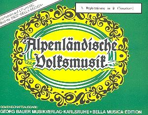 Alpenländische Volksmusik: für Blasorchester
