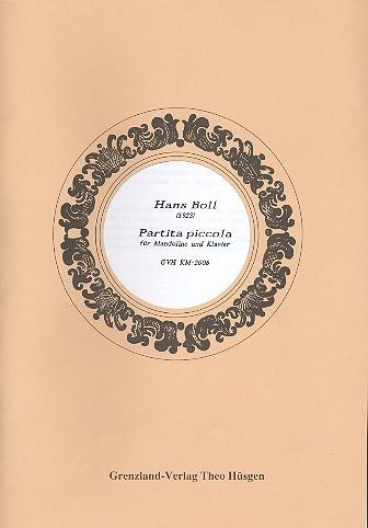 Partita piccola: für Mandoline und Klavier