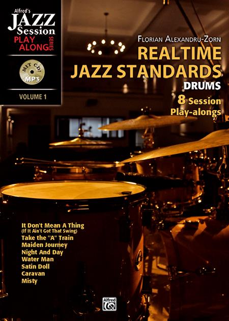 Realtime Jazz Standards vol.1 (+CD): for drum set