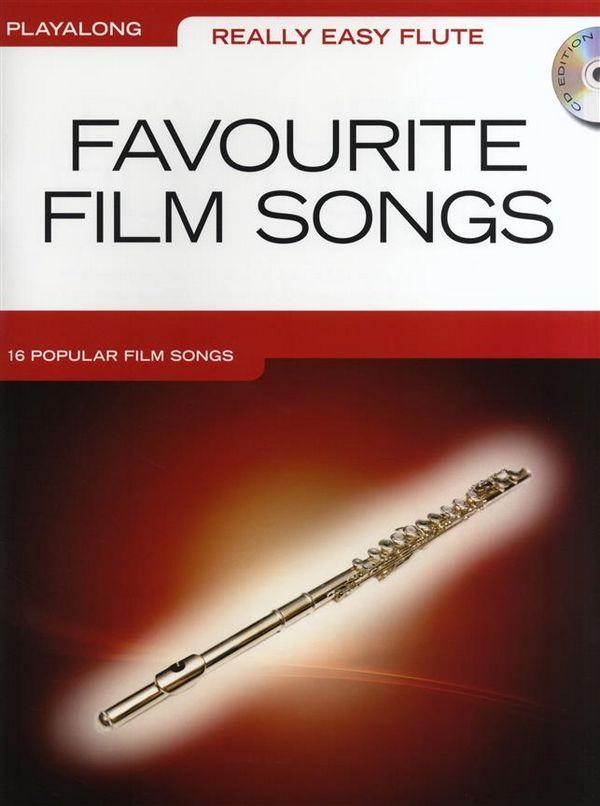 Favourite Film Songs (+CD): for really easy flute