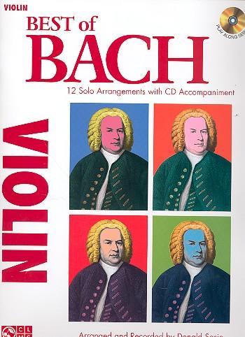 Bach, Johann Sebastian - Best of Bach (+CD) : for violin